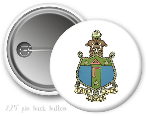 Delta Gamma Crest Button - Suite Space Boutique