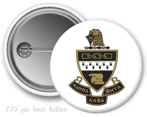 Kappa Alpha Theta Crest Button
