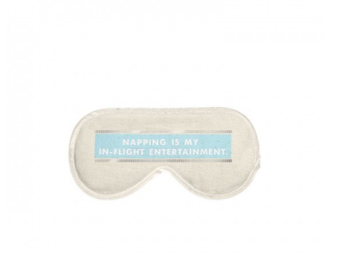 Napping, In-Flight Entertainment Sleep Mask
