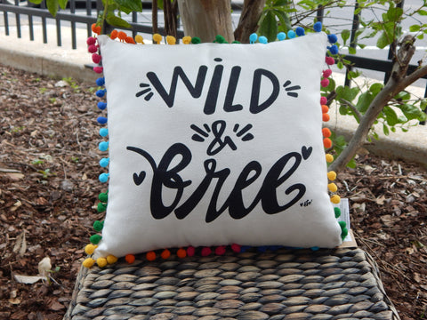 Sale - Wild & Free Pillow