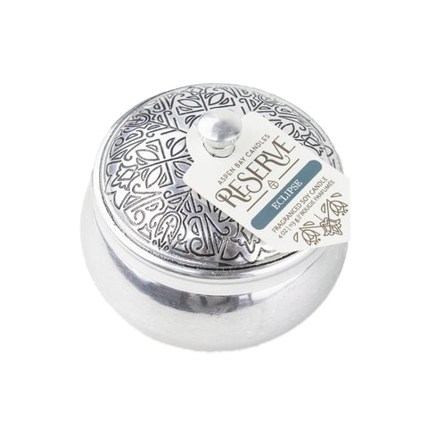 Candle - Reserve Silver Tin - Fire