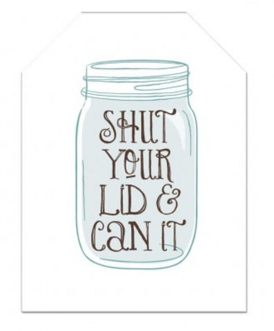 Shut Your Lid & Can It - Single Card