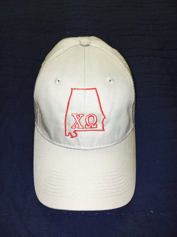Chi Omega State Hat