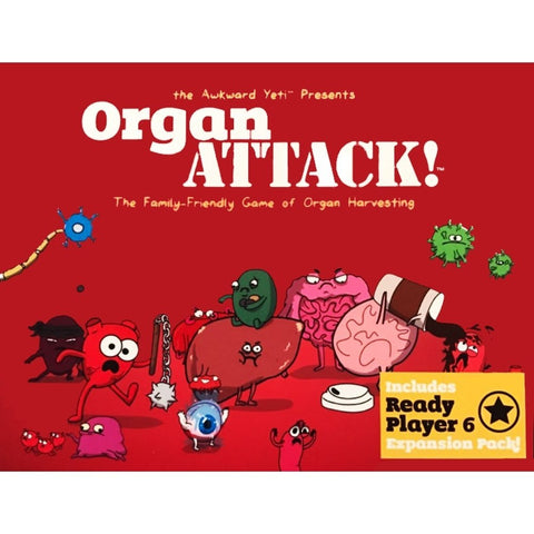 OrganATTACK! Card Game