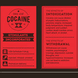 Calling Cards of Psychoactive Drugs Poster