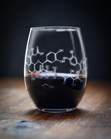 Chemistry of Wine Stemless Glass
