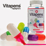 Vitapens Pill-Shaped Highlighters