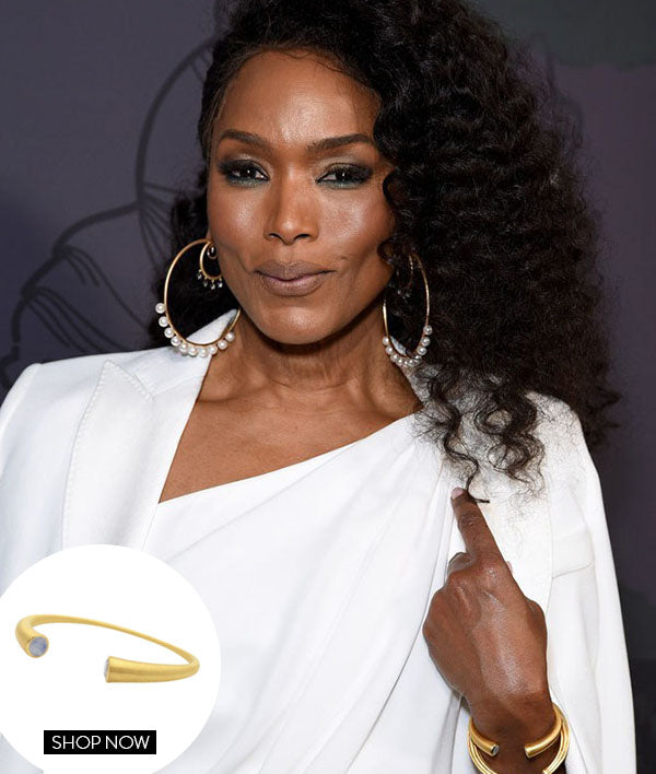 ANGELA BASSETT IN OUR SIGNATURE TWIN CUFF