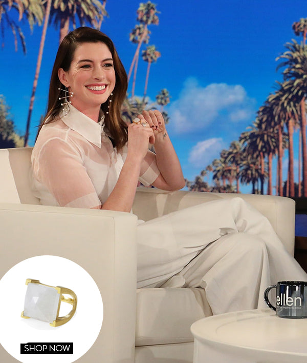 ANNE HATHAWAY IN OUR PLAZA RING