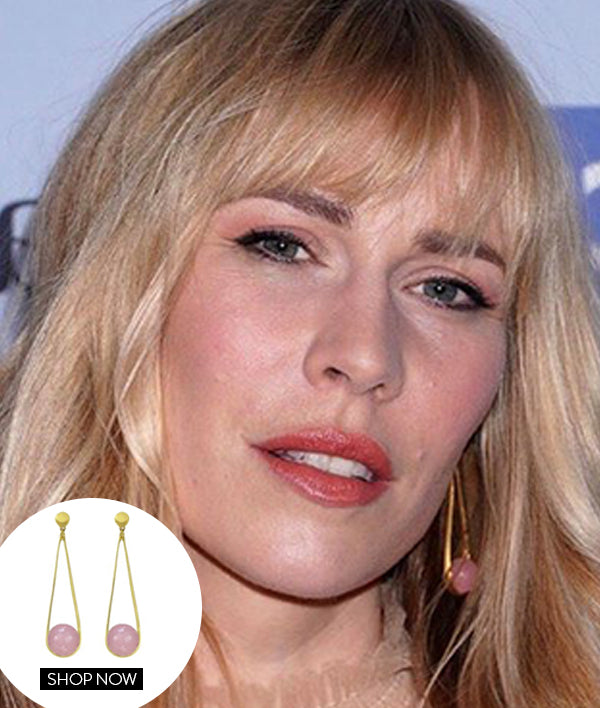 NATASHA BEDINGFIELD IN OUR IPANEMA EARRINGS