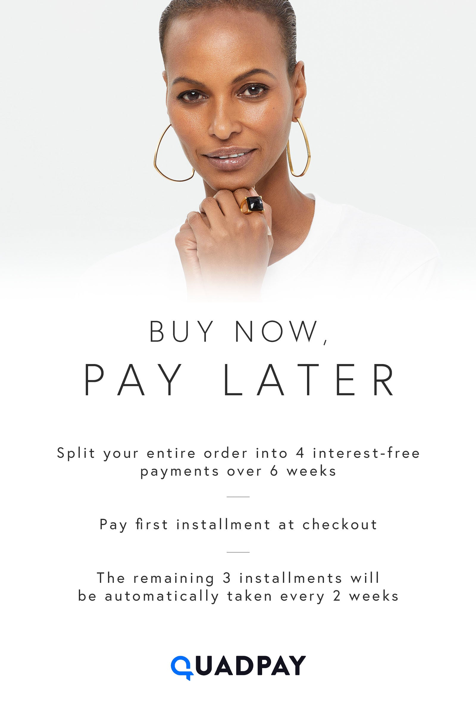 DEAN DAVIDSON JEWELRY BUY NOW PAY LATER QUADPAY
