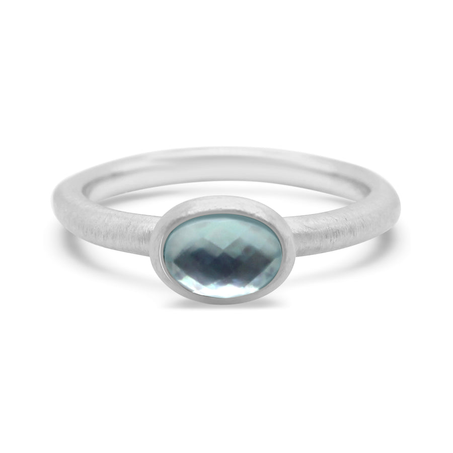 MAR GEMSTONE STACKING RING
