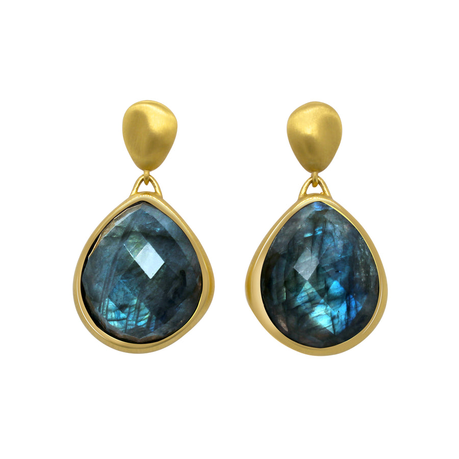 MAR GEMSTONE STATEMENT EARRINGS