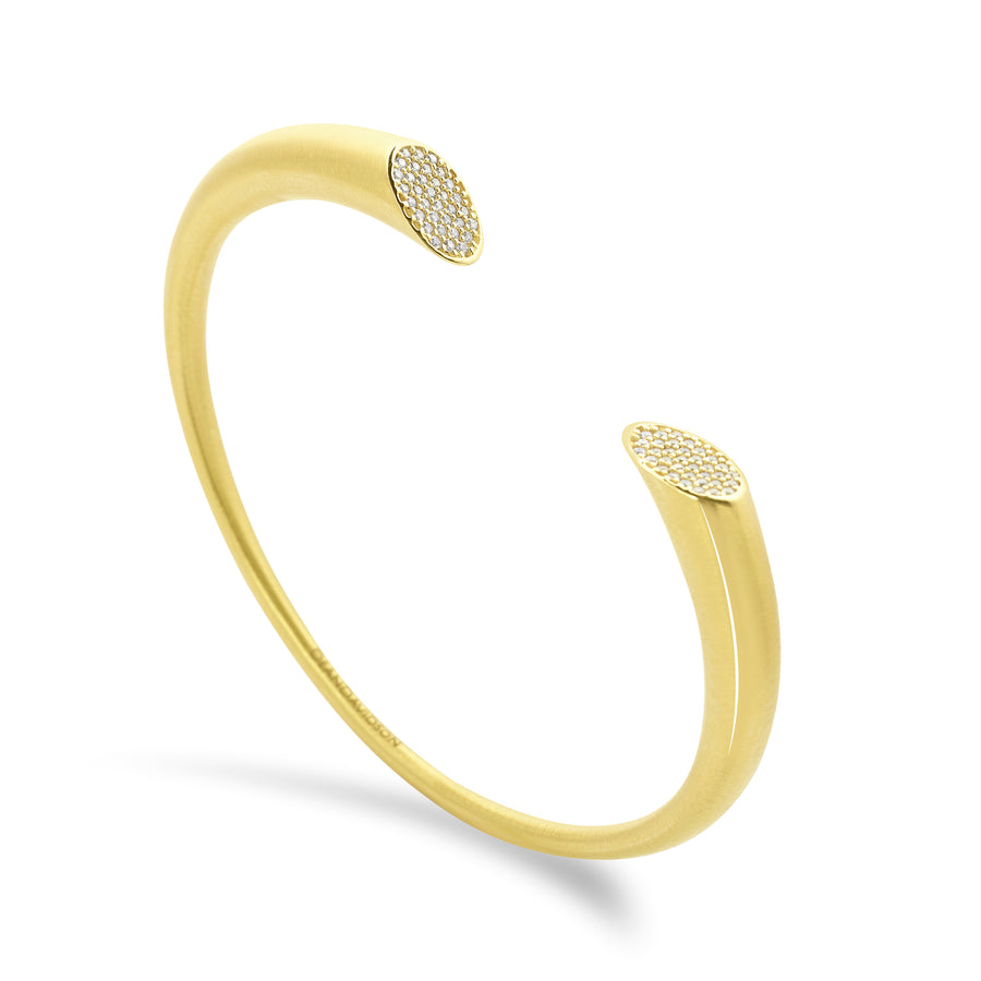 SIGNATURE PAVE TWIN CUFF
