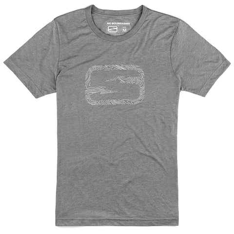 Damascus T-shirt - Steel Gray