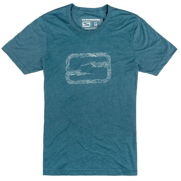 Damascus T-shirt - Ocean Blue