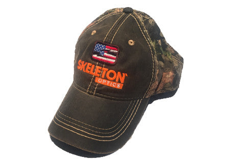 Mossy Oak Infinity® Skeleton Optics Patriot Hat