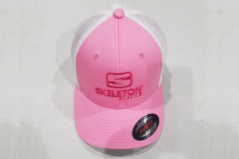 Breast Cancer Awareness Skeleton Optics Hat