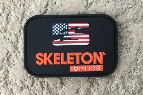 Skeleton Optics Patriot Patch