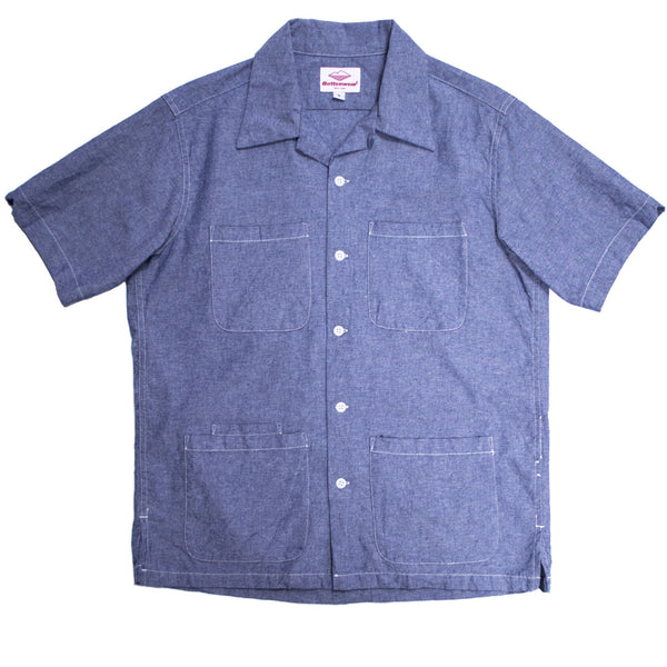 Five Pocket Island Shirt, Chambray
