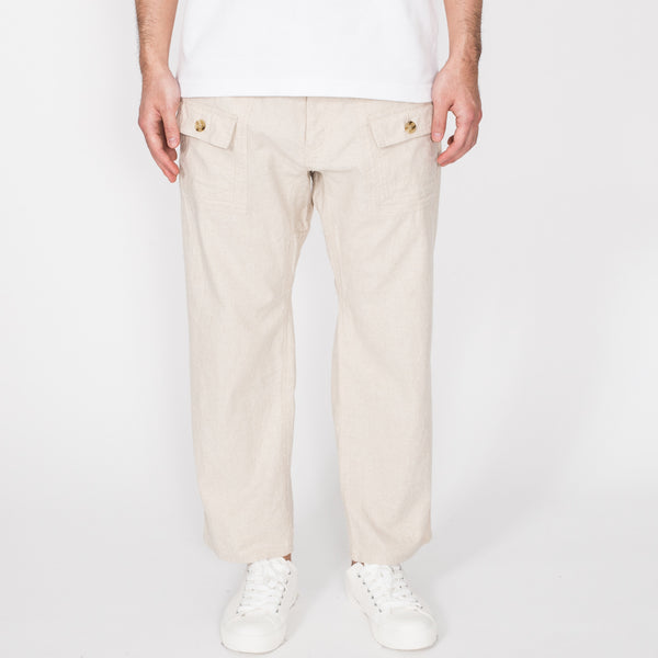 7/8 Trek Pants, Natural