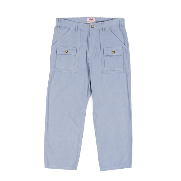 7/8 Trek Pants, Bleach Indigo