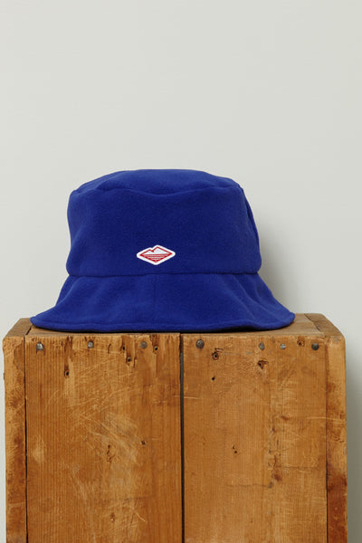 Fleece Bucket Hat, Cobalt