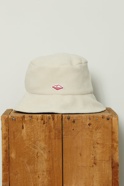 Fleece Bucket Hat, Ivory