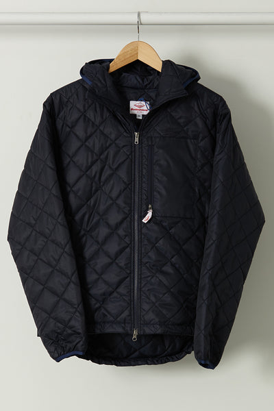 Quilted Guide Parka, Navy