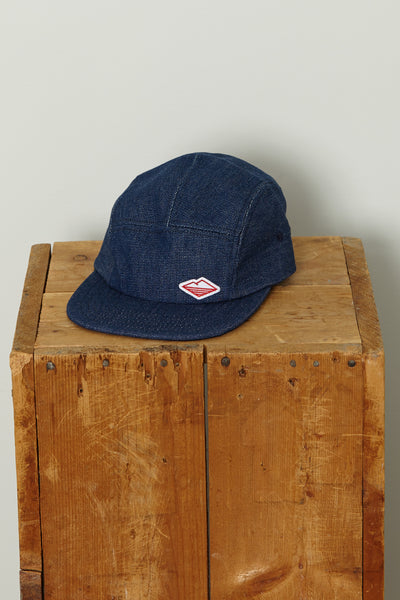 Travel Cap, Blue Broken Denim