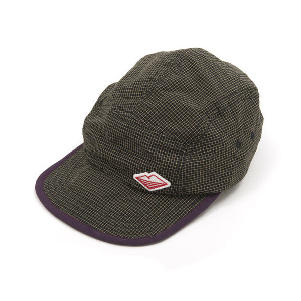 Camp Cap, Black Check