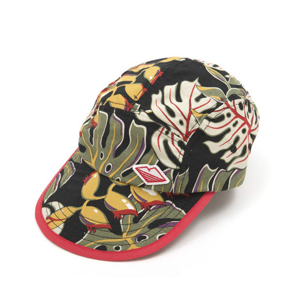Camp Cap, Black Floral