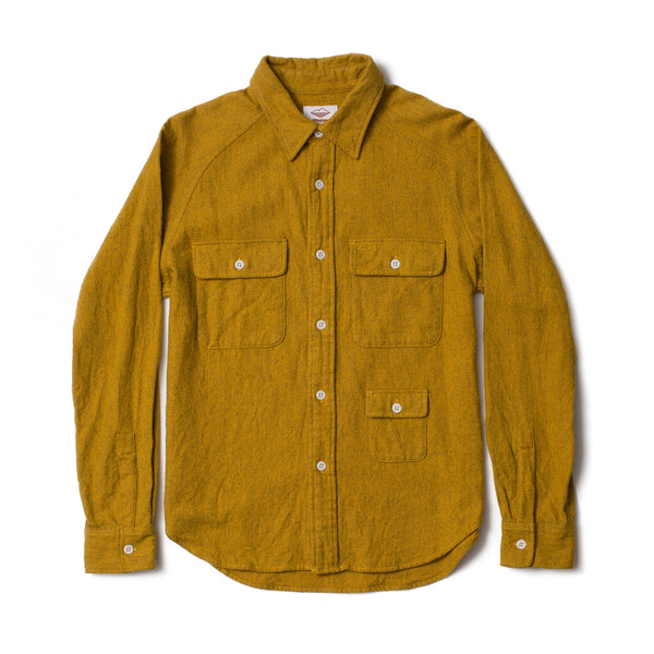 Camp Shirt, Heather Mustard