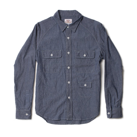 Camp Shirt, Indigo Chambray