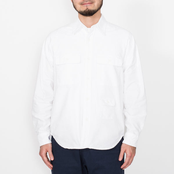 Camp Shirt, White
