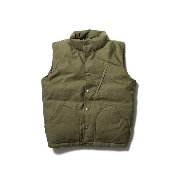 Batten-Down Vest, Olive Drab