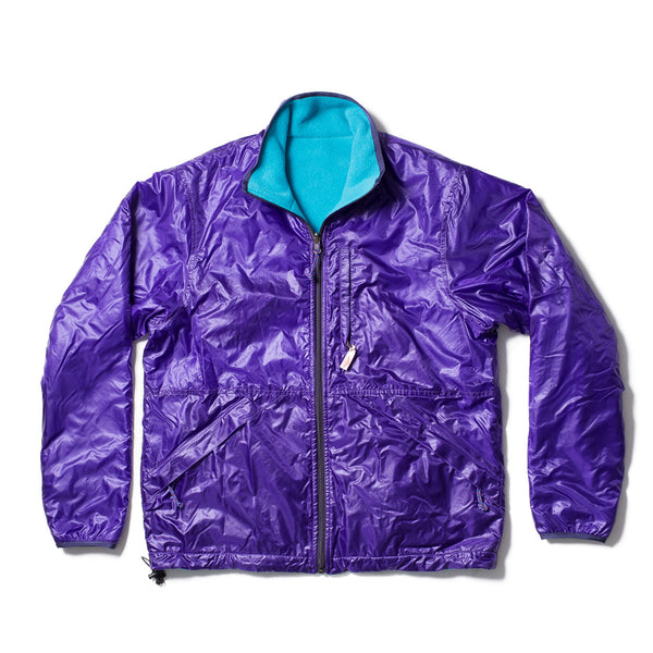 Reversible Camper Jacket, Purple/Teal