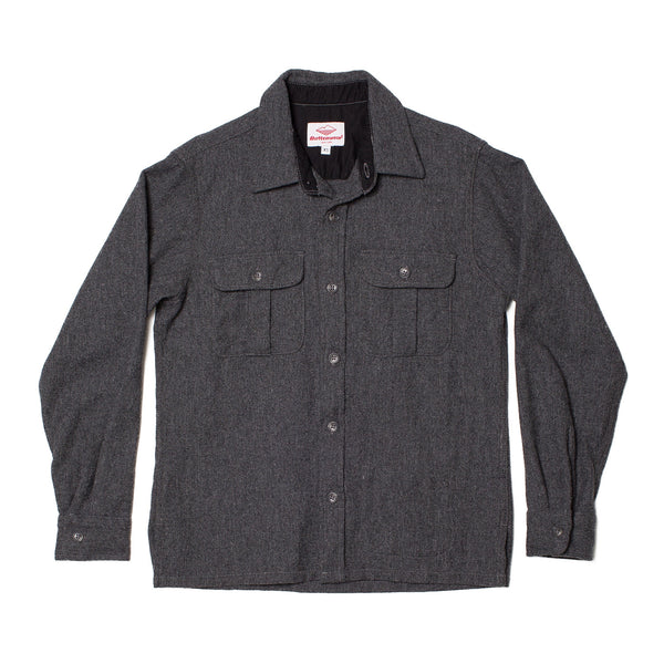 Trail Shirt, Grey Wool