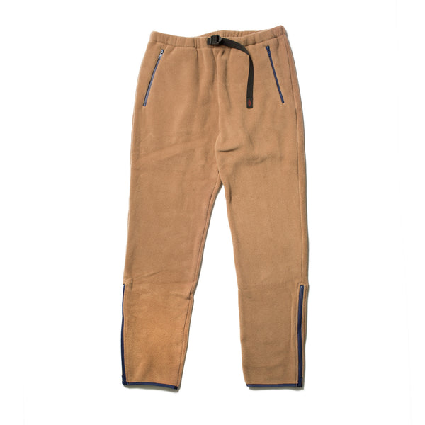 Warm-Up Fleece Pants, Camel