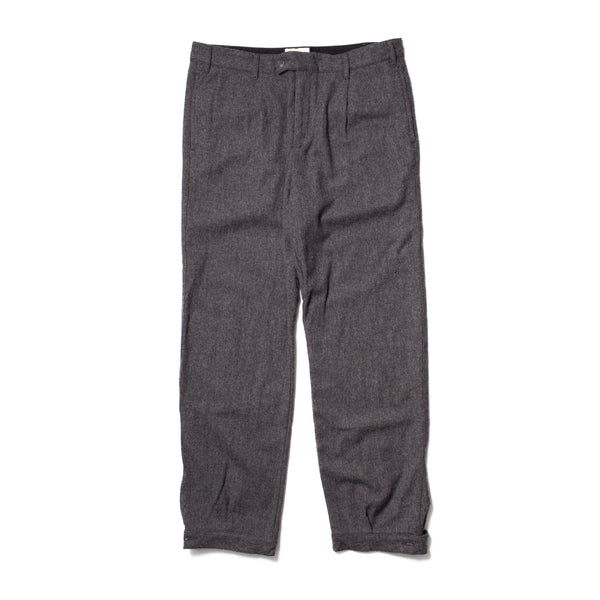 Pleated Woodsman Pants, Charcoal