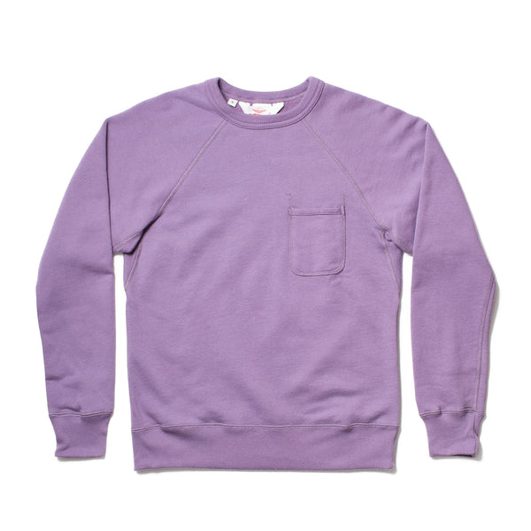 Oi Polloi Exclusive Reach-Up Sweatshirt, Lavender