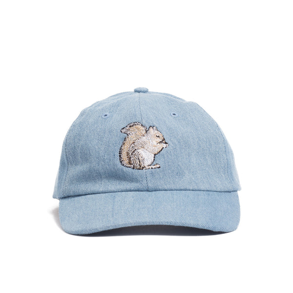 Field Cap, Squirrel Embroidery