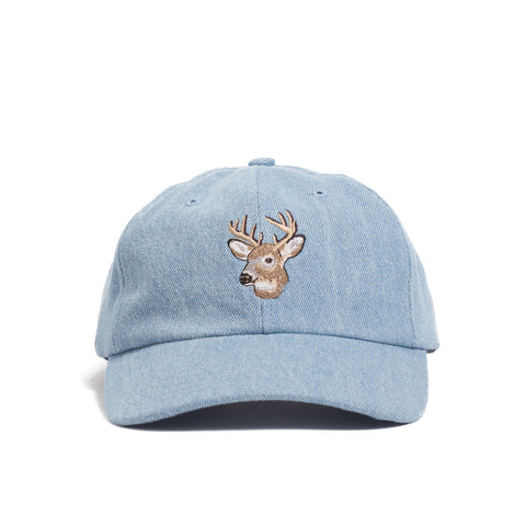 Field Cap, Deer Embroidery
