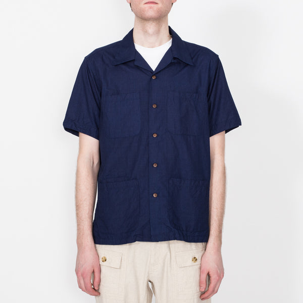 Five Pocket Island Shirt, Deep Indigo