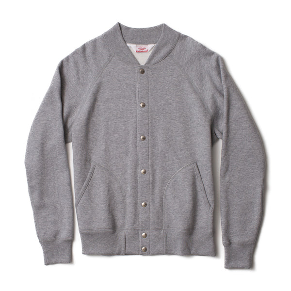 Gym Jacket, Heather Grey