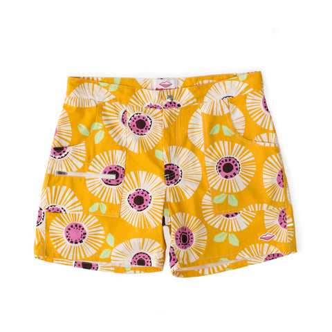 Local Shorts, Yellow Flower