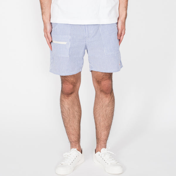 Local Shorts, Blue Stripe
