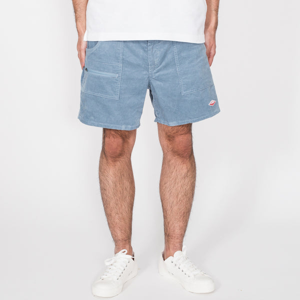 Local Shorts, Light Blue Corduroy