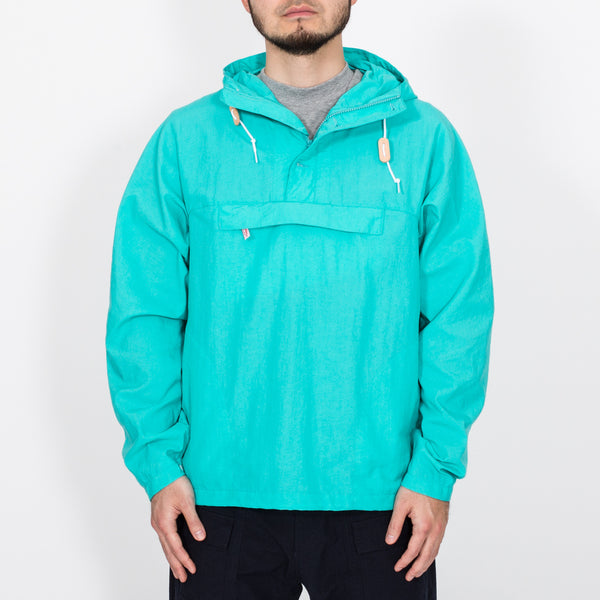 Packable Anorak, Turquoise