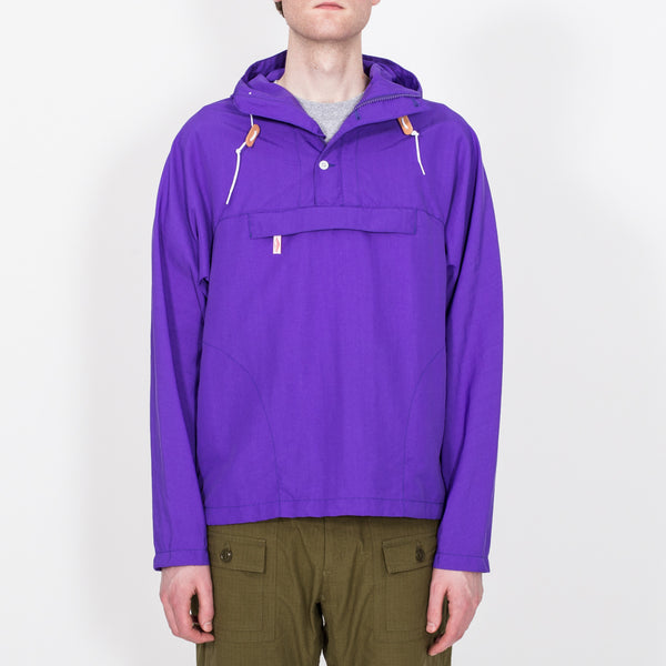 Packable Anorak, Purple